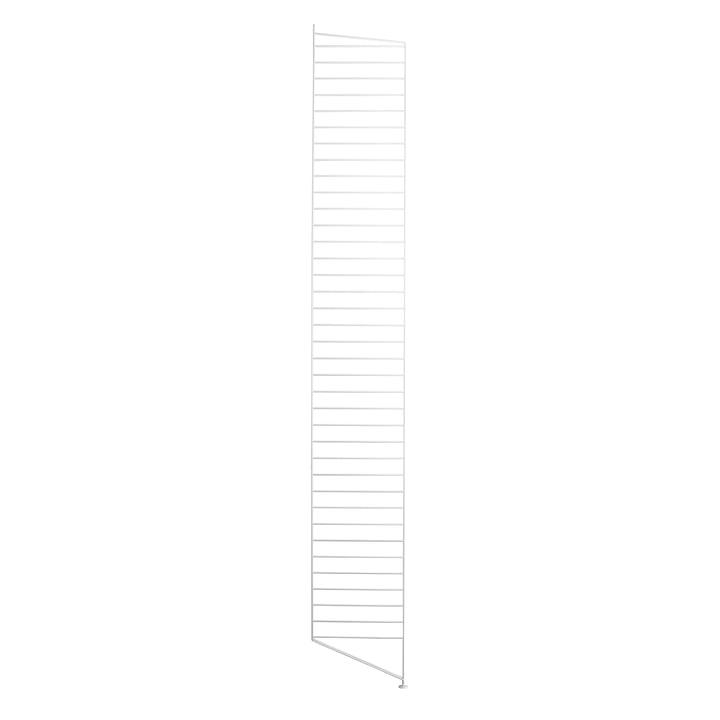 Bodenleiter für String Regal 200 x 30 cm von String in Weiss