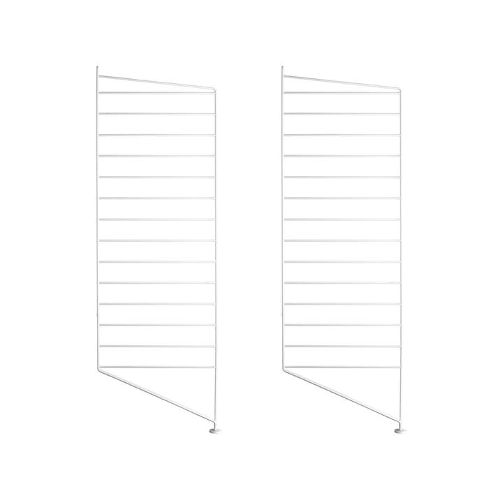 Bodenleiter für String Regal 85 x 30 cm (2er Set) von String in Weiss