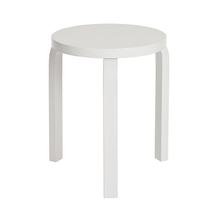 Artek - Hocker 60, weiß/ weiß