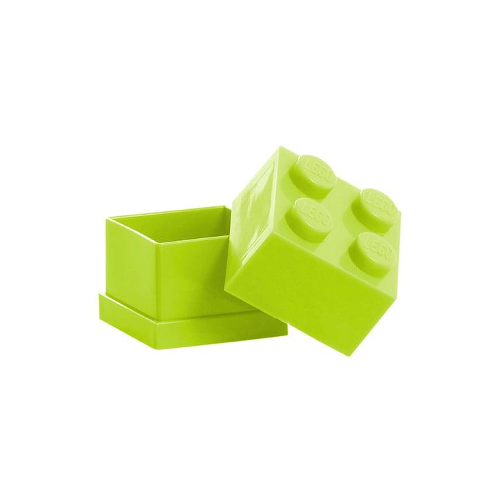 Lego - Mini-Box 4, limette - offen