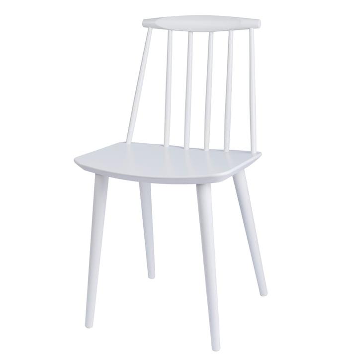 J77 Chair von Hay in weiss