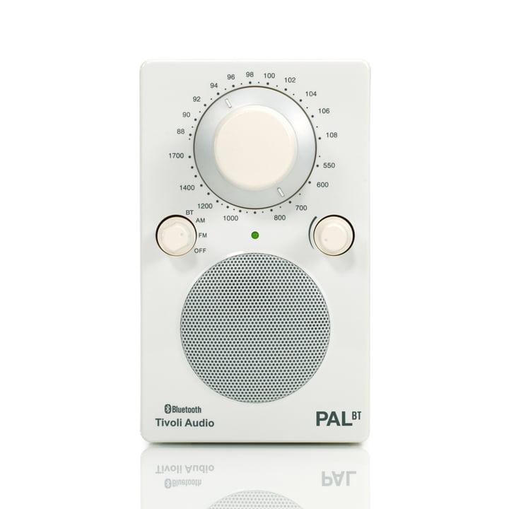 Tivoli Audio - Model PAL BT, weiss / weiss