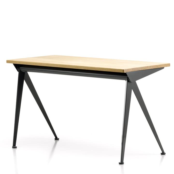 Vitra - Compas Direction Tisch, Eiche natur/ schwarz