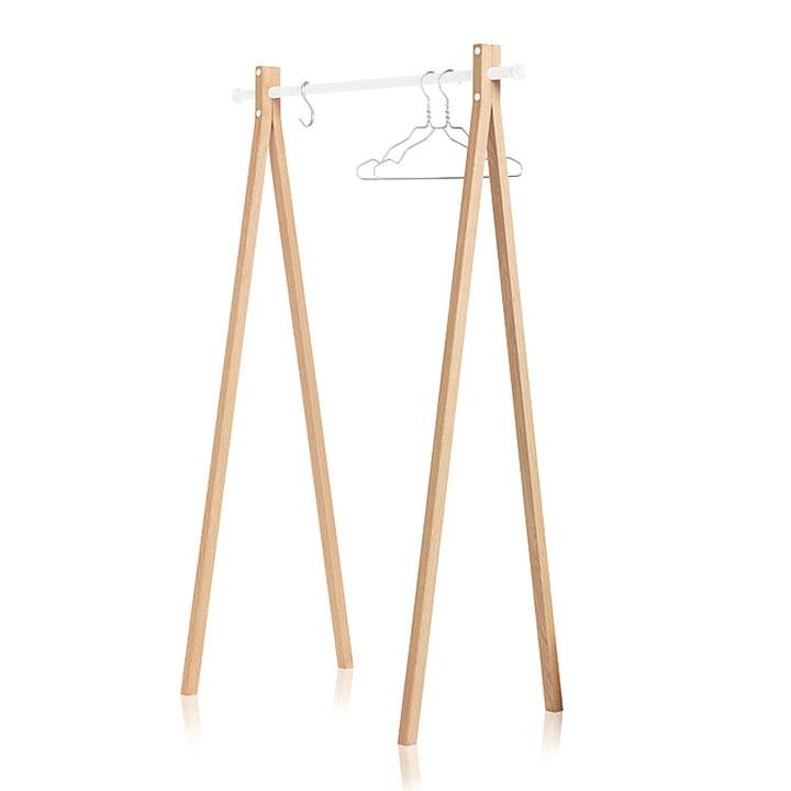 Nomess - Dress-Up Garderobenständer, weiss, 90 cm