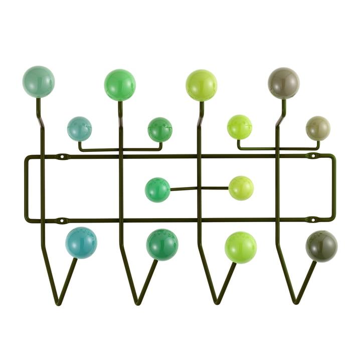 Hang it all Garderobe von Vitra in verschiedenen Grüntönen