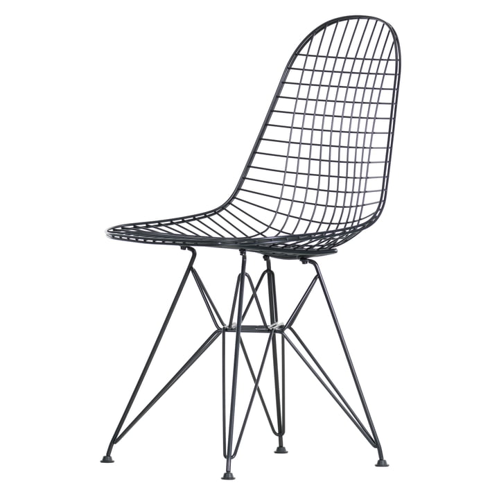 Vitra - Wire Chair DKR, schwarz