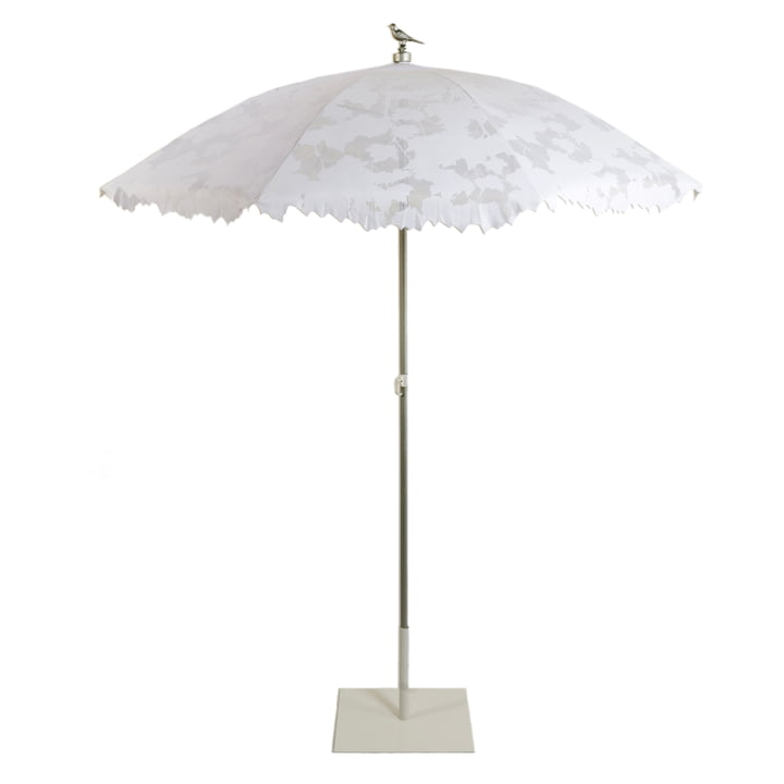 Droog - Shadylace Parasol - Sonnenschirm, weiss