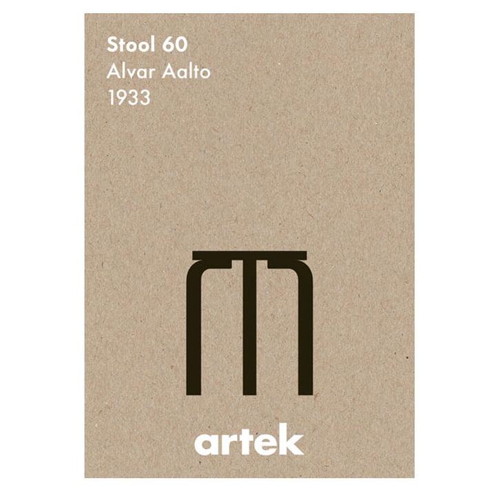 Das Icon Poster - Stool 60 von Artek