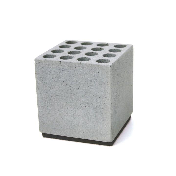 Korn Produkte - Stiftehalter Block, Filz: schwarz
