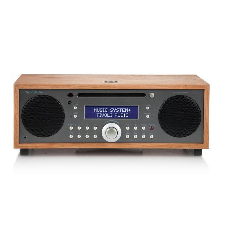 Tivoli Audio - Music System+ BT, kirsche / metallic taupe