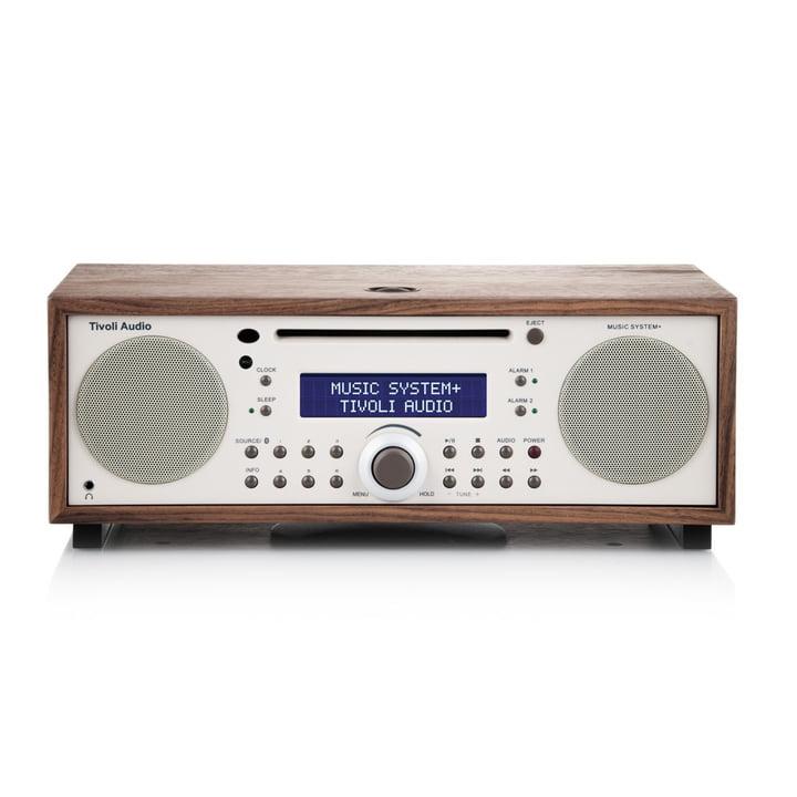 Tivoli Audio - Music System+ BT, walnuss / beige
