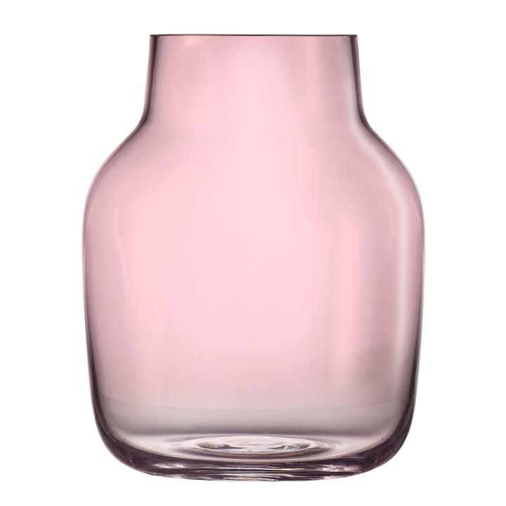 Silent Vase gross von Muuto in Rosa