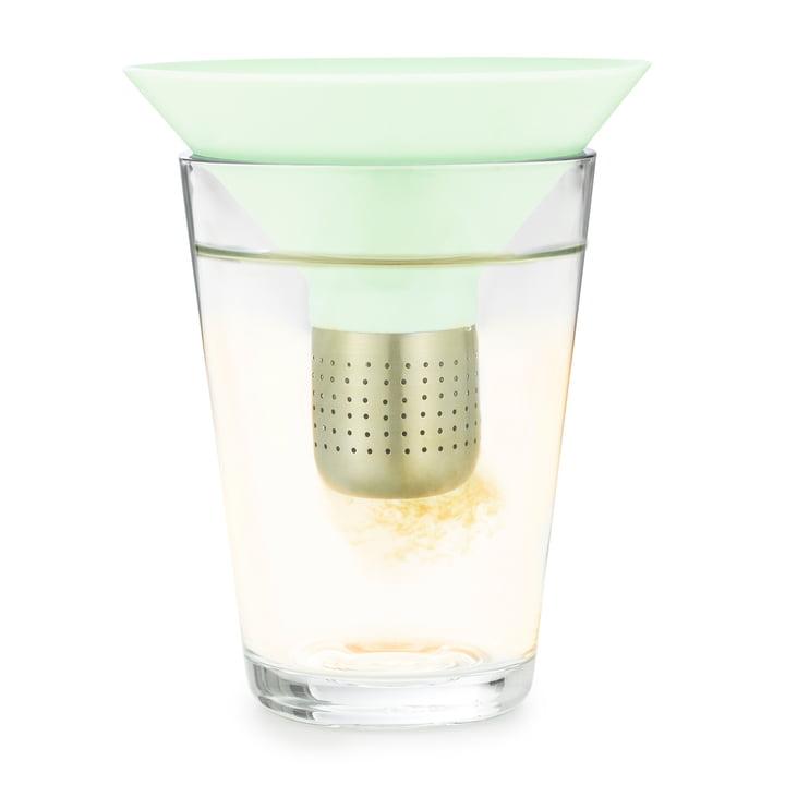 Normann Copenhagen - Tea Strainer, mint - im Glas