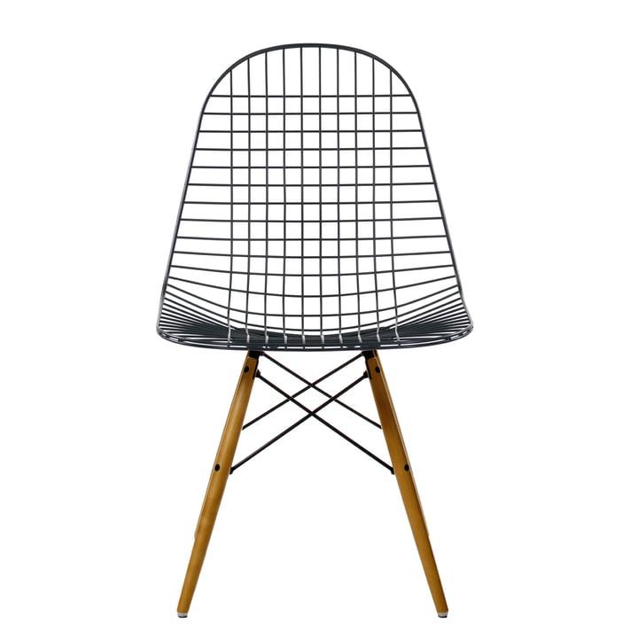 Vitra - Wire Chair DKW, Ahorn gelblich - Front