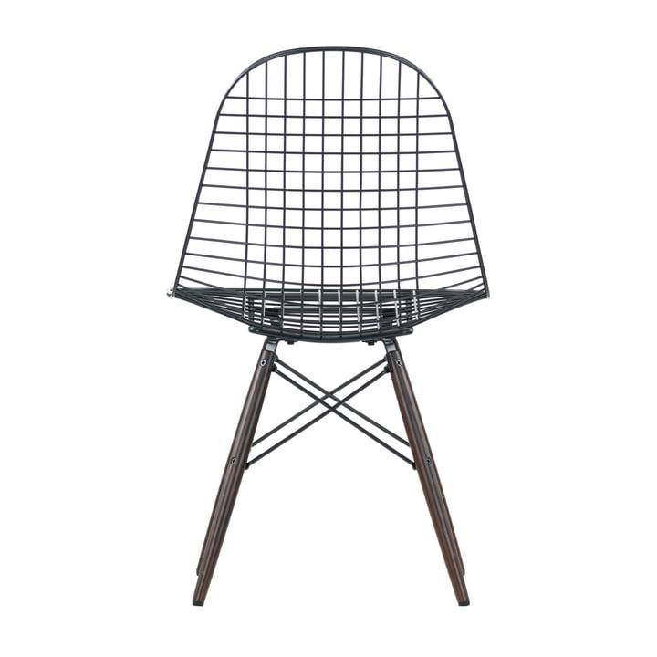 Vitra - Wire Chair DKW, Ahorn dunkel - Rückseite
