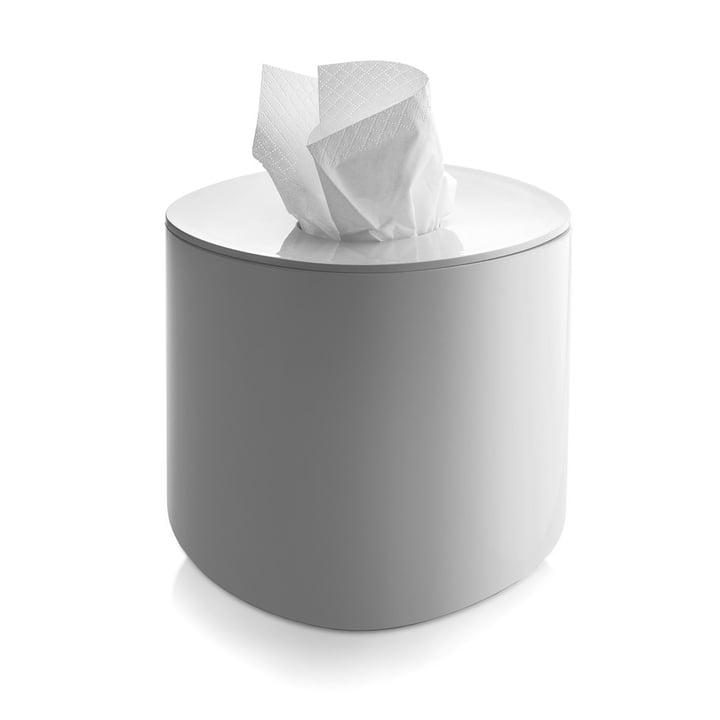 Alessi - Birillo Papiertaschentuch-Behälter PL15, weiss