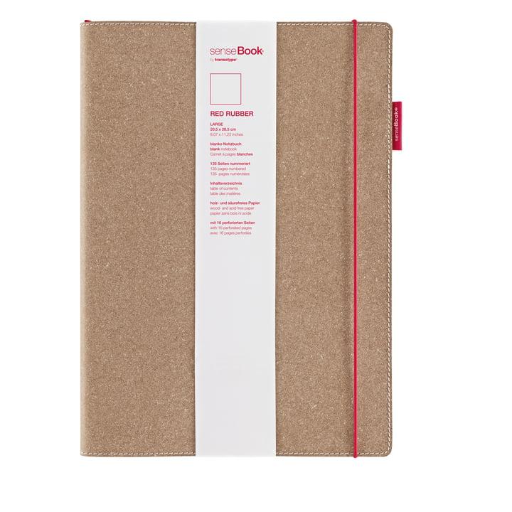 Holtz - sense Book Red Rubber, large