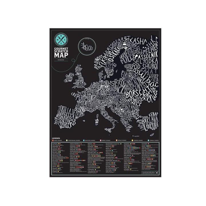 Luckies - Scratch-Map Gourmet