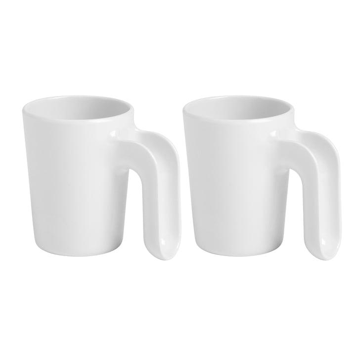 Ole Jensen - Cup II, weiss, 2er-Set