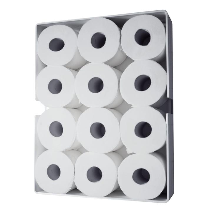 Puro Toilettenpapierschrank von Radius Design in Weiss