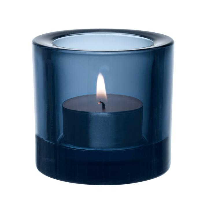 Iittala - Kivi Teelichthalter, regenblau