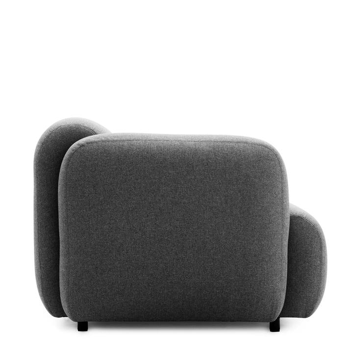 Normann Copenhagen - Swell 3-Sitzer, grau - Seite