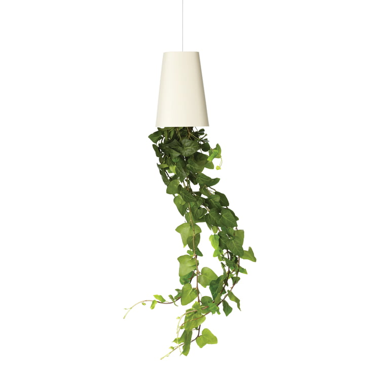 Sky Planter Recycled Small von Boskke in Weiss