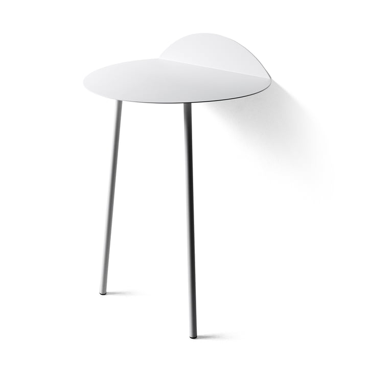 Yeh Wand-Tisch hoch von Menu in Weiss