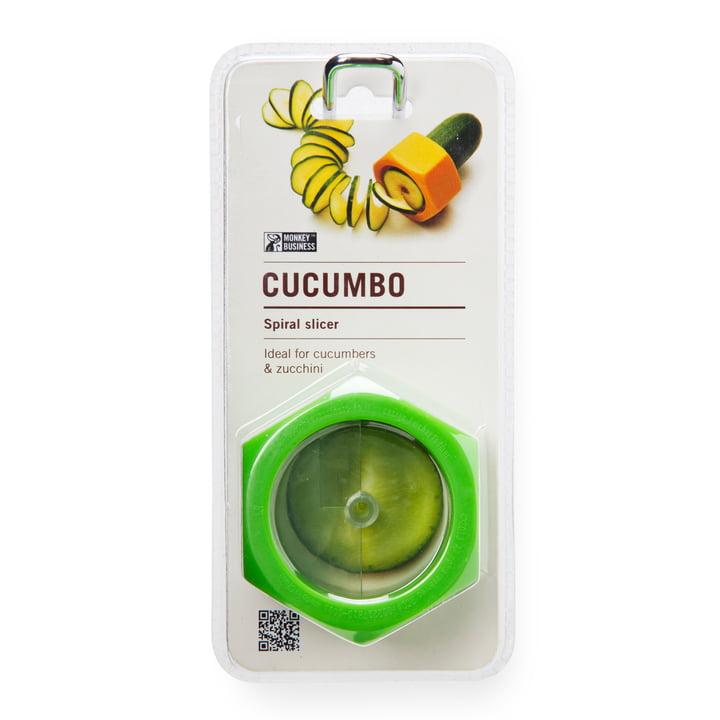 Monkey Business - Cucumbo Gemüseschneider, grün - Verpackung