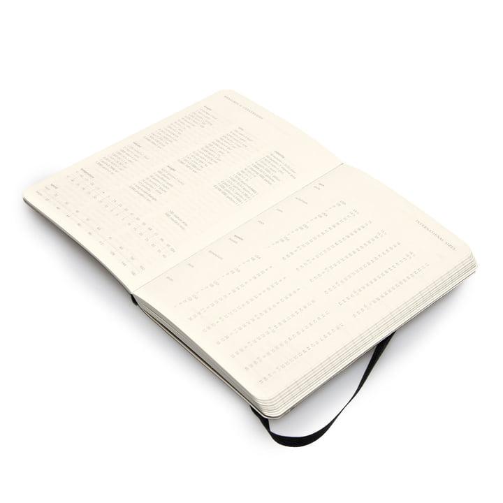 12 Monate Wochen-Notizkalender in Pocket von Moleskine