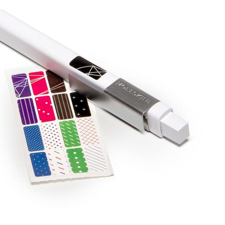 Moleskine - Classic Druckbleistift, weiss - Sticker