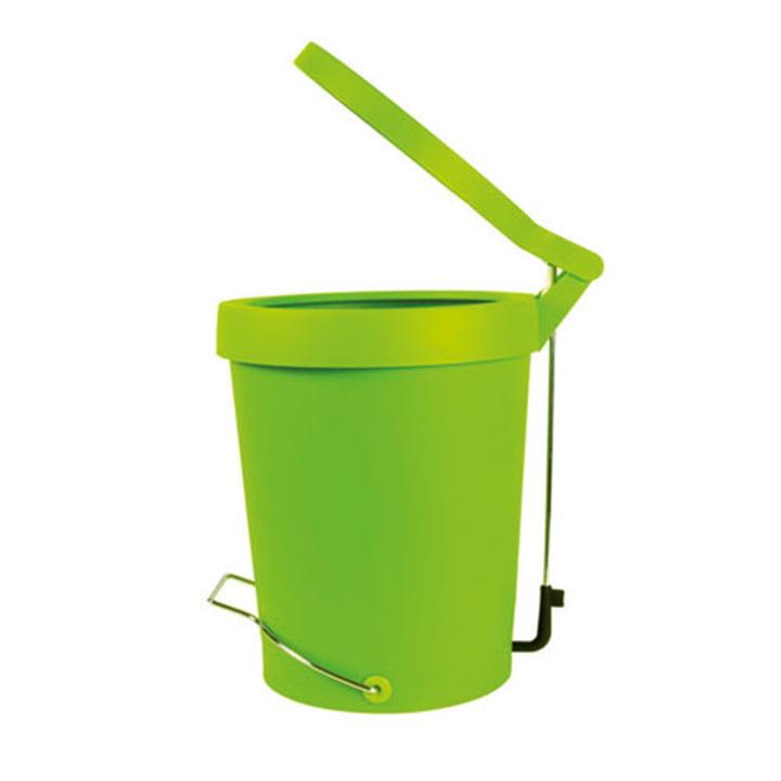 Authentics - Treteimer Tip 7 Liter, grün, Ø 22 cm