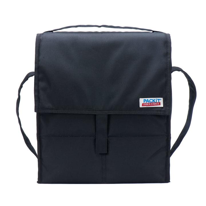 PackIt - Picknick-Kühltasche, schwarz - Vorderseite