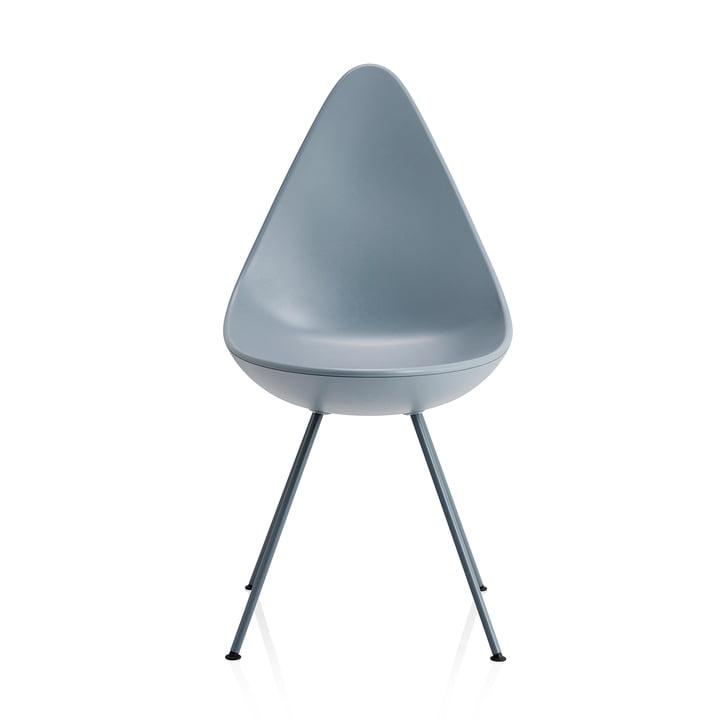 Drop Stuhl von Fritz Hansen in sturmblau