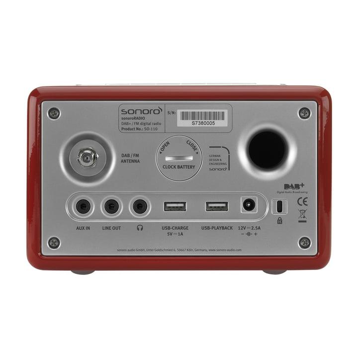 Sonoro - RADIO, rot