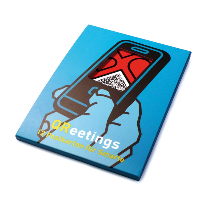 siebensachen - QReetings Postkarten-Set (12 Motive)