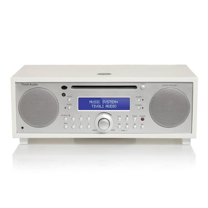 Tivoli Audio - Music System+, weiss / silber lackiert
