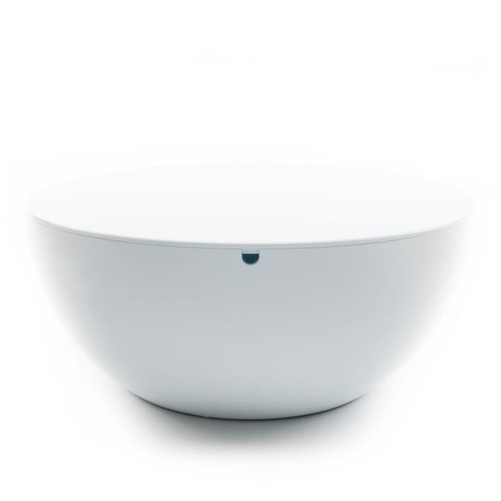 XLBoom - Slice Table mit Deckel, weiss / weiss