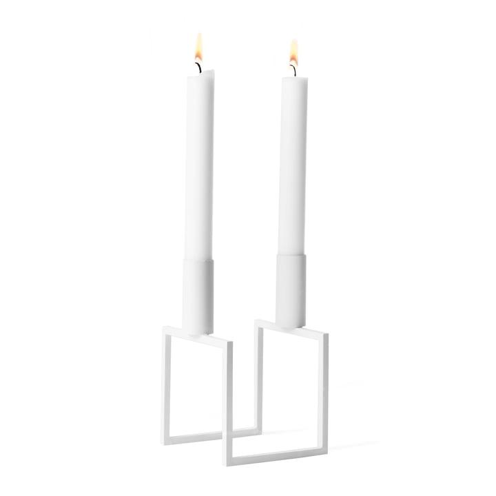 Line Kerzenhalter von by Lassen in weiß