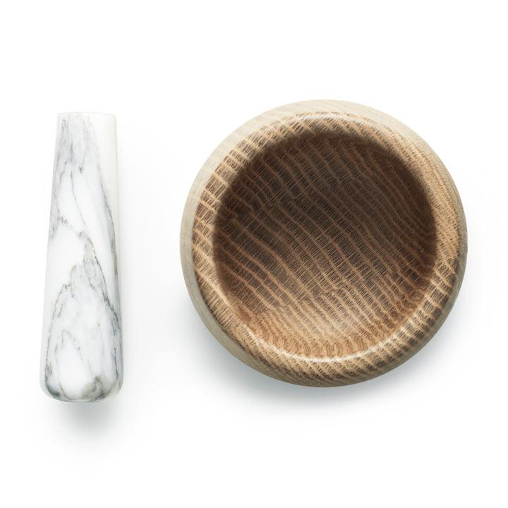 Normann Copenhagen - Craft Mörser mit Stössel, weiss