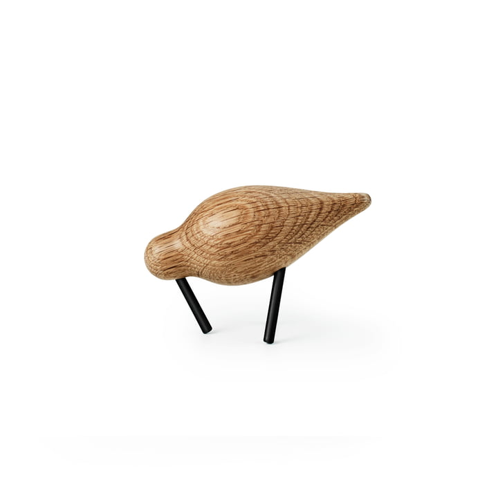 Shorebird Small von Normann Copenhagen in Eiche/ Schwarz