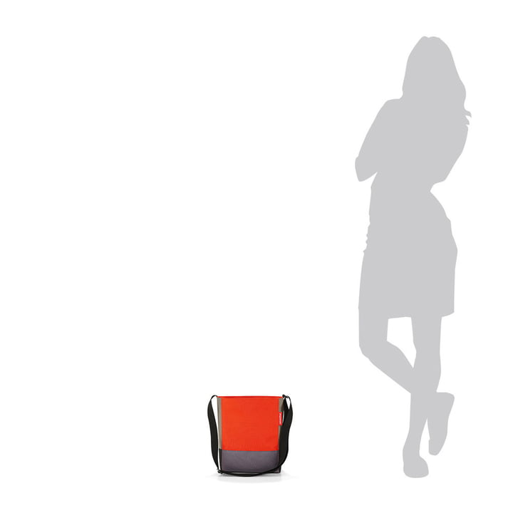 Die reisenthel - shoulderbag S in patchwork mandarin