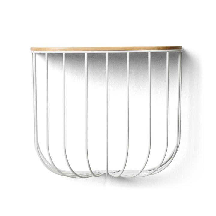 FUWL Cage Shelf von Menu in weiss