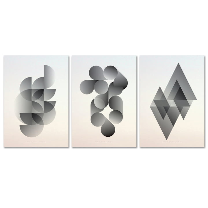 Paper Collective - Poster Format 1.0, 3er Set
