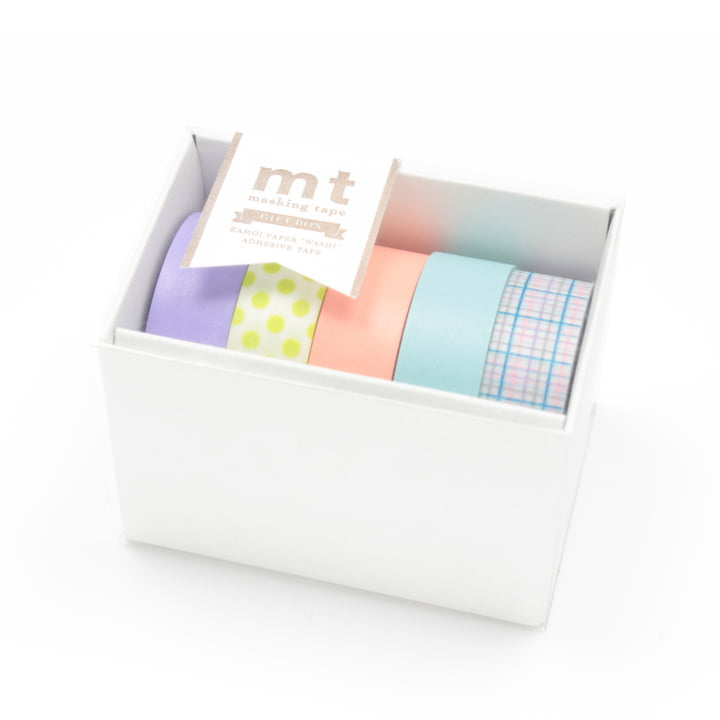Masking tape - mt Geschenkbox Pastell (5er-Set)