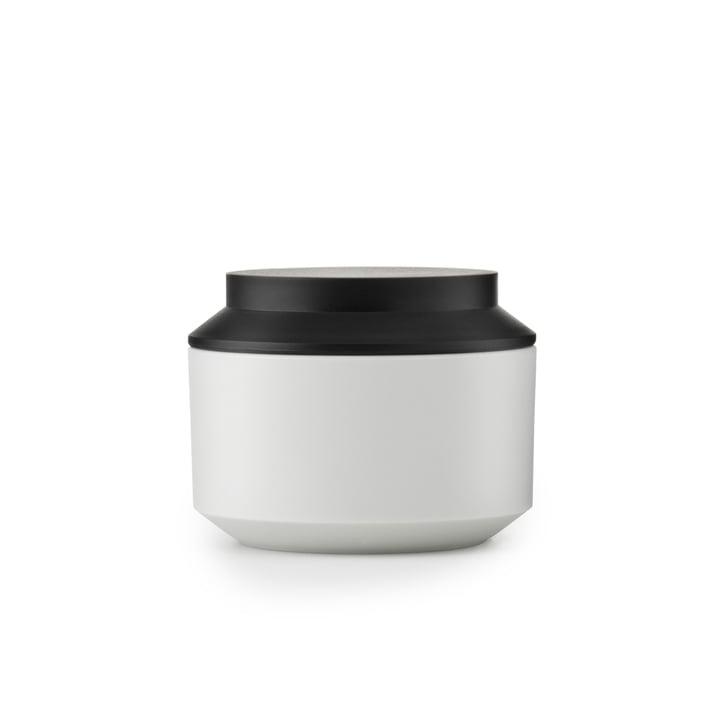 Normann Copenhagen - Geo Jar Vorratsdose, frost / black Ø 10 cm