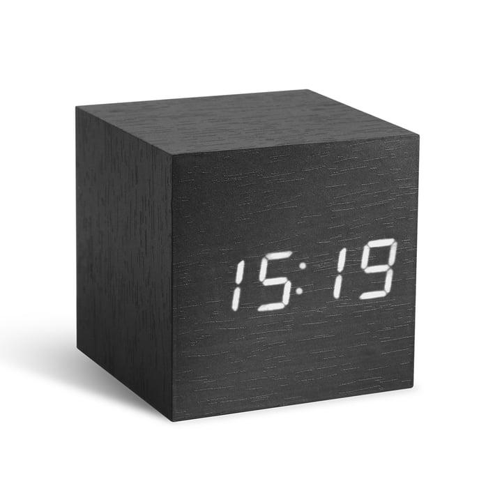 Gingko - Cube, schwarz / LED weiss