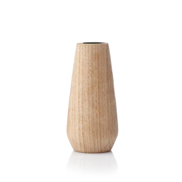Applictata - Torso Vase medium, Eiche