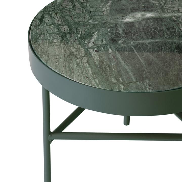 ferm living - Marble Marmor Tisch, grün
