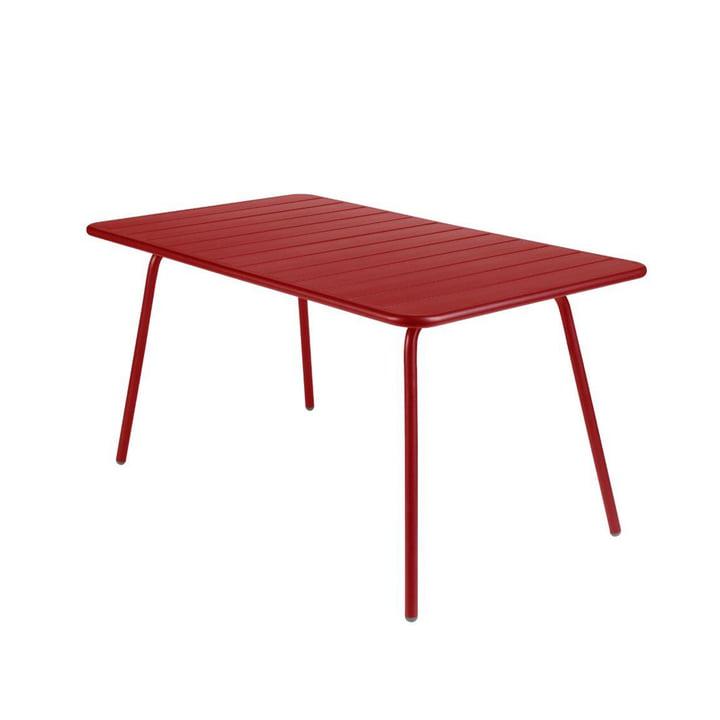 Luxembourg Tisch 80 x 143 cm von Fermob in Chili